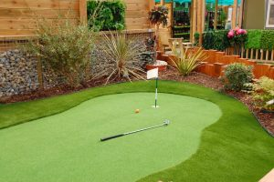 Artificial Grass Installation With Animals